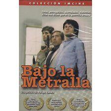 Bajo La Metralla DVD NEW Una Pelicula De Felipe Cazals Factory Sealed!