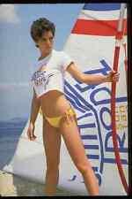 464002 Serious Woman Standing St Tropez A4 Photo Print