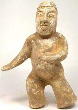 """Ancient 600AD Tang China Medieval Painted Clay Pottery Martial Arts """"Wushu"""" Man"""