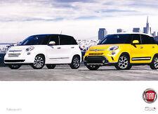 2013 Fiat 500 500L Brochure Card