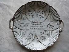 Silberhochzeits-Teller -Schale