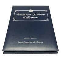 Statehood Quarters Collection Postal Commemorative Society Volume 1 With Stamps
