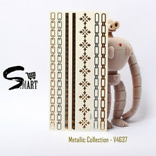 FLASH! Metallic Temporary Tattoo Body Chain Accessories Attention Seekers v4637