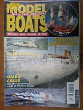 Model Boats Magazine 25th June - 22 July 1999 Vol 49 Issue 584