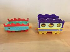 Lot of 2 Learning Curve 2010 Dinosaur Train Cars / Carriages
