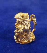 No Stone Yellow Gold Pendant/Locket Vintage Fine Jewellery (1970s)
