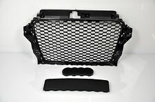 AUDI für A3 8V 2012-2015 FRONT GRILL Wabengrill RS3 LOOK Stoßstange Bumper  =15