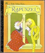Children's Little Golden Book ~ RAPUNZEL ~ Marianna Mayer ~ RARE