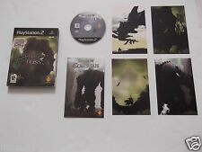 SHADOW OF THE COLOSSUS for PLAYSTATION 2 'RARE & HARD TO FIND' with ART CARDS