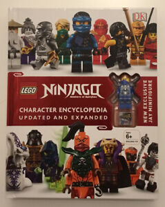 Dk Books Lego Ninjago Character Encyclopedia. New.