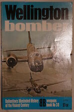 WW2 British RAF Wellington Bomber Ballantine Reference Book