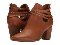 NEW FRYE Womens Naomi Pickstitch Shootie Ankle Bootie- Size 7 Brown $328