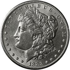 1883-S Morgan Silver Dollar Brilliant Uncirculated - BU