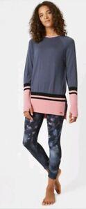 Sweaty Betty Camden Merino Wool Jumper Top Size S EB918-B9