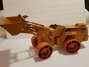 Vintage CASE Yellow W30 Metal Bulldozer w/ adjustable lift LARGE!