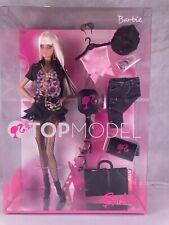 TOP MODEL Barbie Doll Platinum Blonde Fashionista Mattel 2007 New NRFB M2977