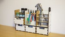 Desk organizer with drawers for modelers TAMIYA Mr Hobby tools