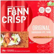 Finn Crisp Sourdough Rye Thins  200g (Pack of 9)