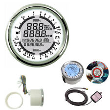 Car Motorcycle Boat 6IN1 7-colors Multi-functional GPS Speedometer Spiral Style