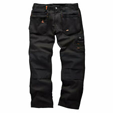 Scruffs WORKER PLUS / Worker Trousers | Trade Hard Wearing Work Trousers BLACK