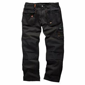 Scruffs WORKER PLUS / Worker Trousers | Trade Hard Wearing Work Trousers BLACK