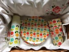 Classique Gris 12 Pièce antidérapante Mélamine Vaisselle Dîner Set de petites plaques Bols