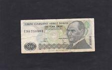 Turchia banconota del 1970 10 lirasi