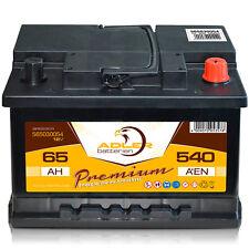 Autobatterie 12 V / 65 Ah - 540 A/EN 56530 Adler ers. 45 50 55 60 62 63 64 Ah