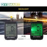 Wireless Cycling Bike Computer Bicycle Waterproof LED Speedometer Odometer AU