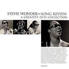 STEVIE WONDER  - SONG REVIEW - GREATEST HITS COLLECTION  - CD NEW AND SEALED