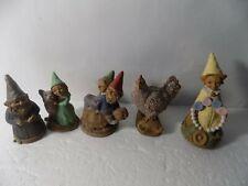 Lot of 5 Tom Clark Gnomes: