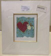 Helen Rhodes - Captured Heart Original - Mounted (In Stock)