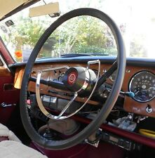CLASSIC LEATHER STEERING WHEEL COVERS / GLOVES ~ WOLSELEY 6/90 6/99 6/110 16/60
