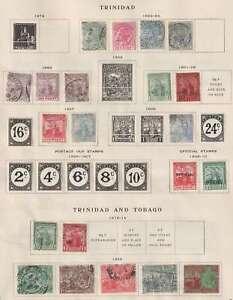 D2569: Trinidad + Tobago Stamp Collection; CV $125