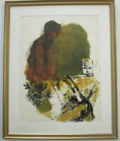 SOPHIE FORDON PAINTING EXHIBITED MUSICIANS BAND FLUTE PLAYER EXPRESSIONIST MOD