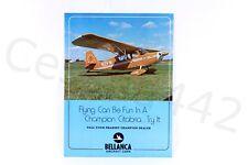 BELLANCA - Champion Citabria Brochure Aircraft Factory Color Poster Print USA