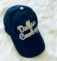Dallas Cowboys womens new era NFL 9Forty cap hat dark blue bling nice