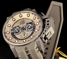 25278 Invicta 50mm I Force Bomber Shark Edition Chronograph Silicone Strap Watch