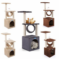 36'' Cat Tree House Condo Tower Scratching Post Pet Kitty Activity Center Toys