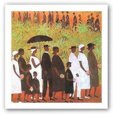 Funeral Procession Ellis Wilson African American Art Print 26x30