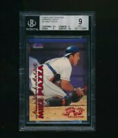 1999 Fleer Tradition Warning Track #41 Mike Piazza BGS 9