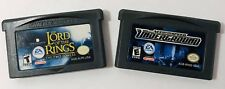 Game Boy Advance Games Need For Speed Lord Of The Rings