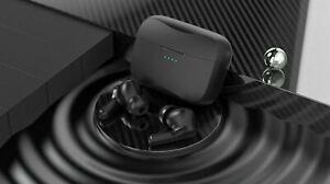 TWS Binaural Stero Earbuds Touch Control Headphone Wireless Bluetooth Sweatproof