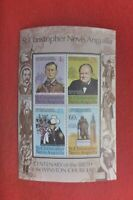 CENT BIRTH SIR WINSTON CHURCHILL  MINI SHEET MUH ST CHRISTOPHER NEVIS ANGUILLA