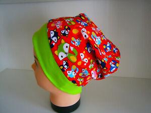 ♥Neu-Handmade♥Füchse♥Beanie♥ Mütze♥Kindermütze♥KU 38-58♥Jungs♥
