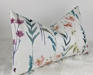 """12""""x20"""" Floral Country Cushion Cover Longstock John Lewis Fabric Cushion Cover"""