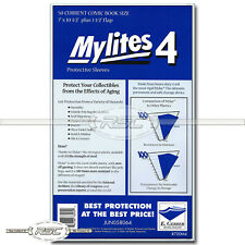 50 - Mylites 4 Current 4-Mil Mylar Comic Book Bags by E. Gerber - 700M4