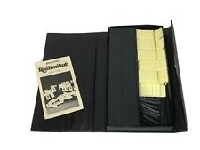 Pressman Deluxe Rummikub Classic Tile Game With Storage Case 100% Complete