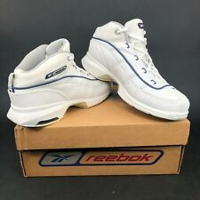 Vintage Reebok Ergo Hex Womens 6.5 White Training Shoes Trainers Vintage DS