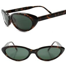 Genuine Vintage Deadstock 80s Style Rockabilly Small Tortoise Cat Eye Sunglasses